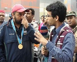 Ronjan Sodhi win Gold Medal in Asiad 2010