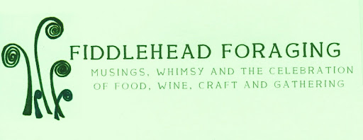 food musings, gathering atlanta fiddlehead foraging
