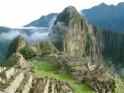 Machu Pichu - Google Earth