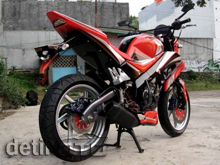 Modifikasi Yamaha Scorpio on Modifikasi Motor Yamaha Scorpio  Modifikasi Motor   Yamaha   Honda