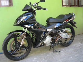 Foto gambar modifikasi spesification  JUPITER MX YAMAHA SNIPER