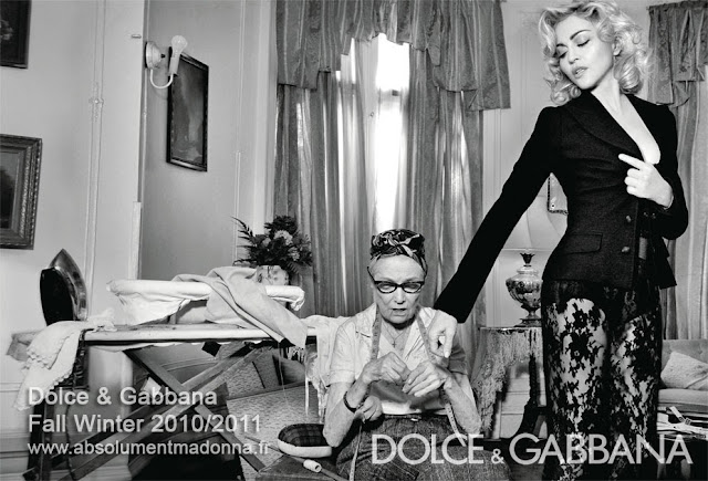 Madonna in new Dolce & Gabbana ads