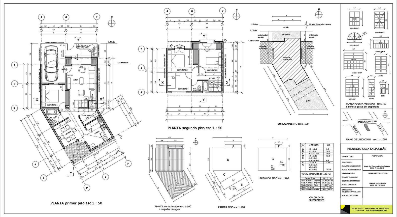 Arquitectura y urbanismo for Que es una planta arquitectonica
