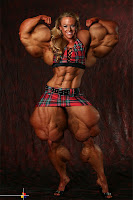 huge female bodybuilder morph