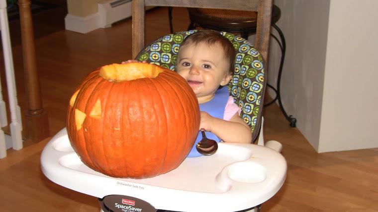 Carving my 1st Pumpkin