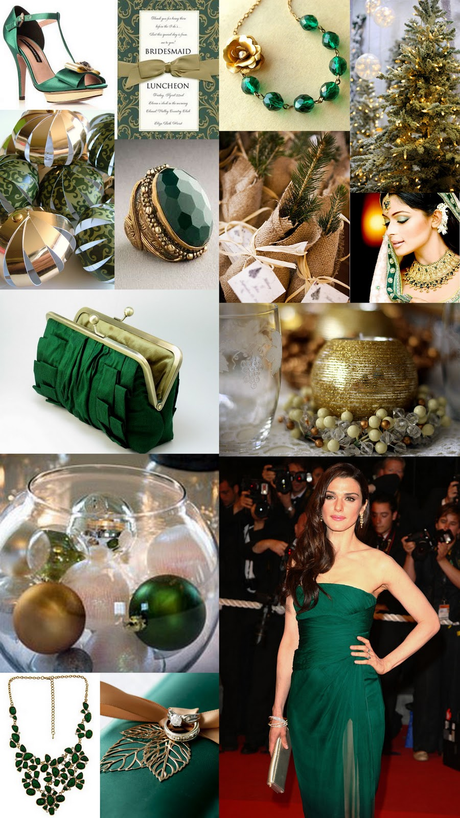 Forest Green And Gold Are Rich Warm Regal Colors Not Just For Making A Gorgeous Christmas Tree But Also Creating Luxe Look Any Holiday