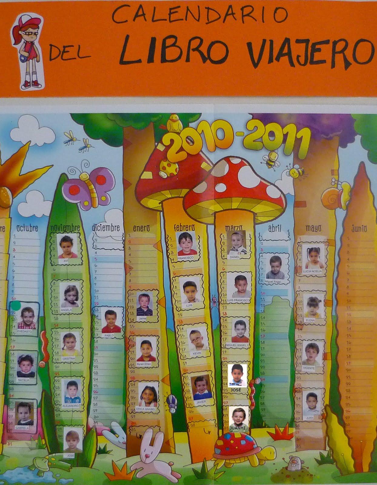 Santa ana calendario del libro viajero - Ideas libro viajero infantil ...