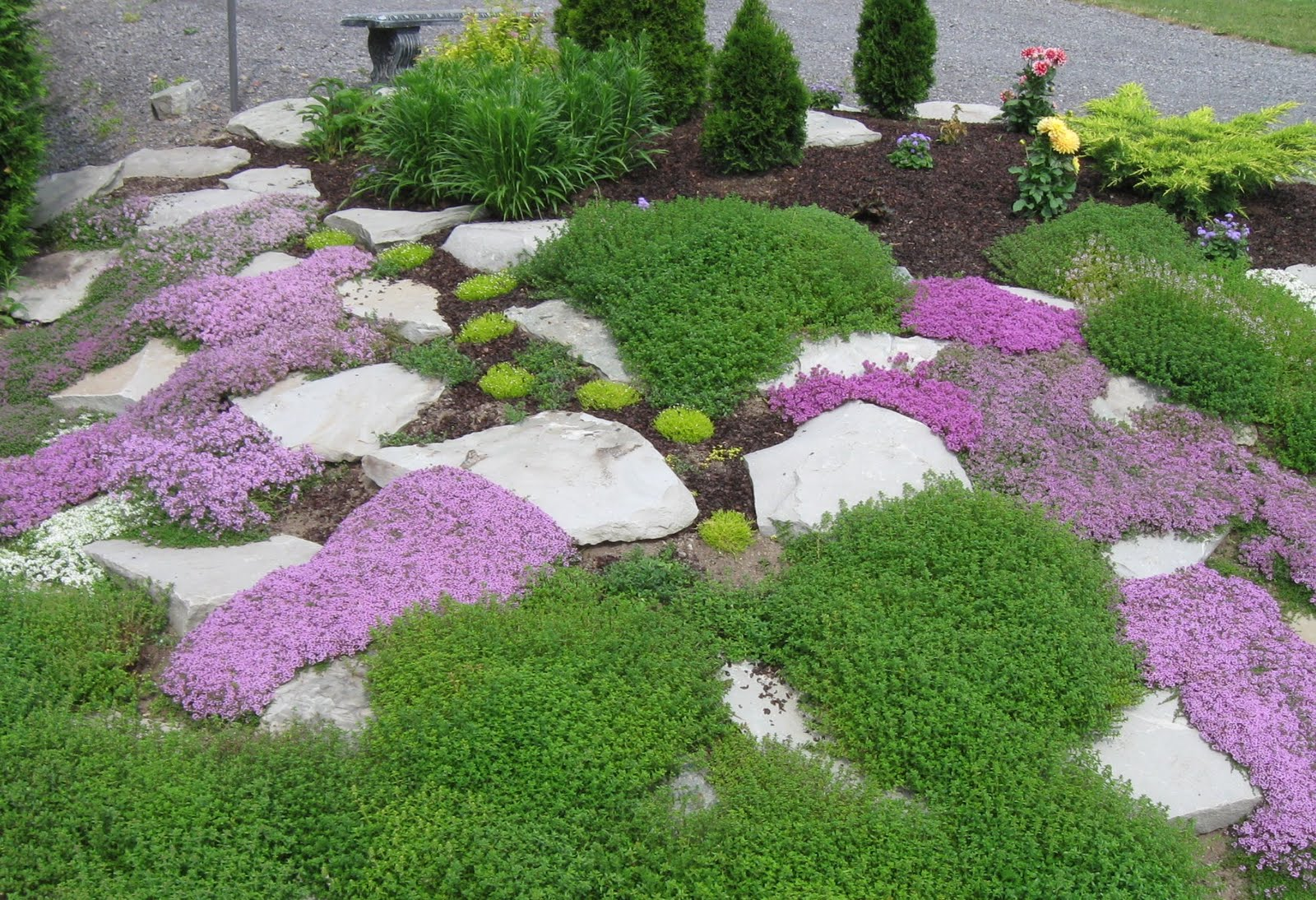 Rock Garden Decor | Home Design, Decorating and Remodeling Ideas