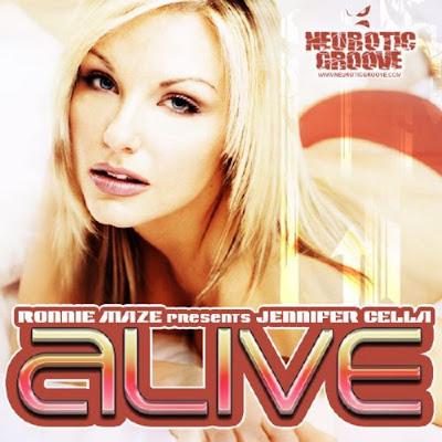 Ronnie MAZE feat JENNIFER CELLA - Alive