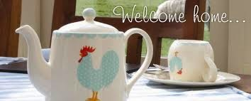 welcome home teapot
