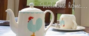 welcome home teapot