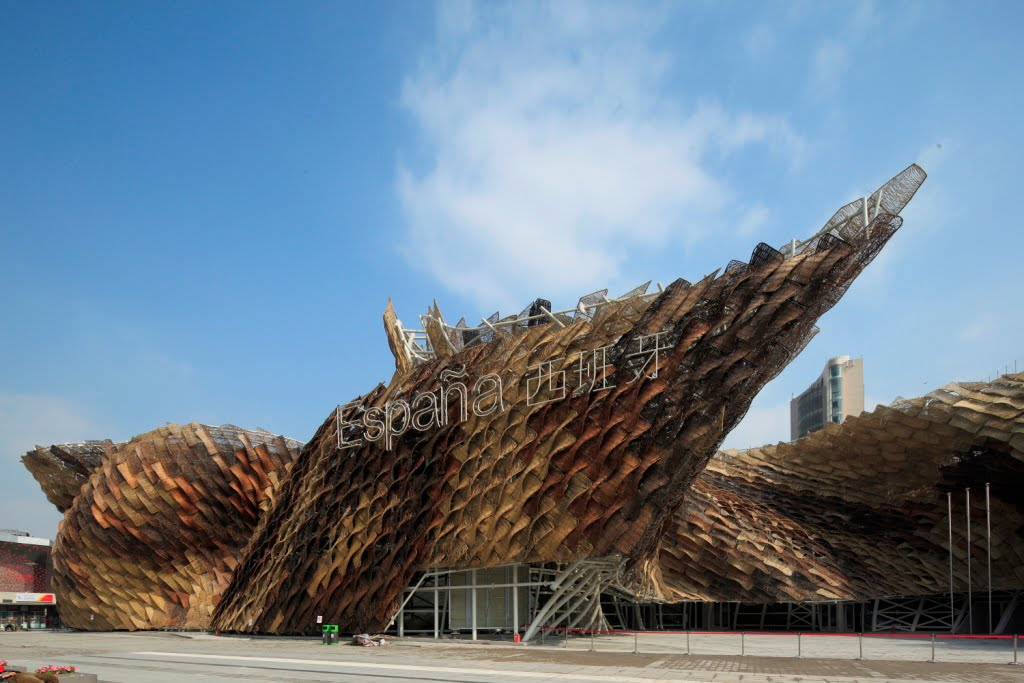 World expo 2010 shanghai spain pavilion at expo 2010 for Expo 2010 pavilions