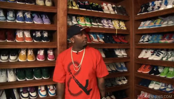 Pizza Luvr Celebrity Shoe Closets