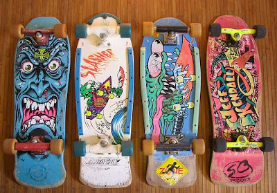 I Also Have Small Collection Of 70s Boards As Well For The Appreciation But Since Was Born In 73 Sort Missed Skateboard Wave 80s My