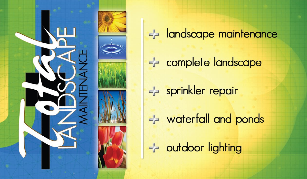 Pookies Photography Amp Graphics Total Landscape Business Card