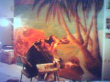 mural oil painting