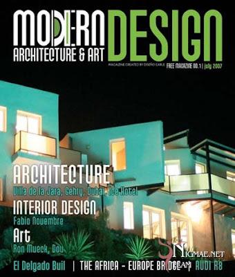 Architectural Magazines Modern Design No 1 Ed July 2007