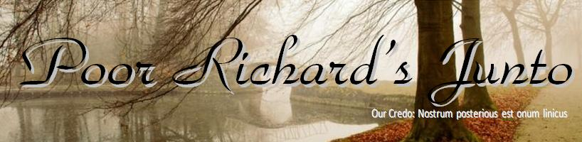 Poor Richard's Junto - Management Consulting, and Leadership