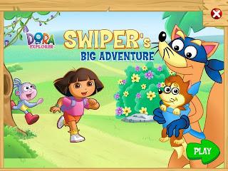 PC Game Dora the Explorer Swipers Big Adventure 2