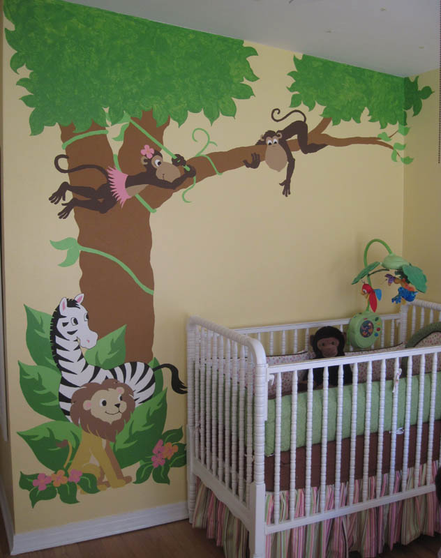 kids decal corner paint by number wall murals. Black Bedroom Furniture Sets. Home Design Ideas