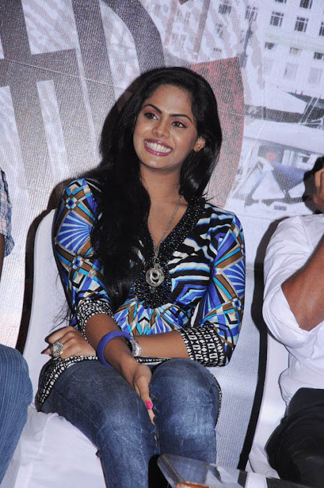 karthika at ko movie press meet cute stills