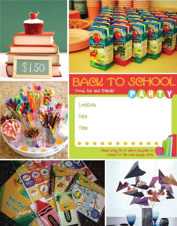 Everyday is a hollyday back to school party for Back to school party decoration ideas
