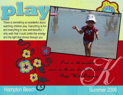 Scrapbook Layout by Julie Kelley, Creative Team Member