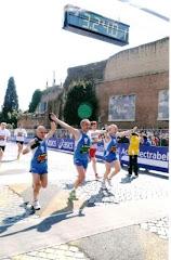 Arrivo della Maratona di Roma 2009