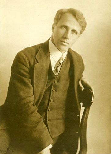 robert frost two look at two Frost's major themes: alienation, isolation and loneliness man: his solitariness robert frost has written on almost every subject, but alienation and isolation, both emotional and physical in two look at two.