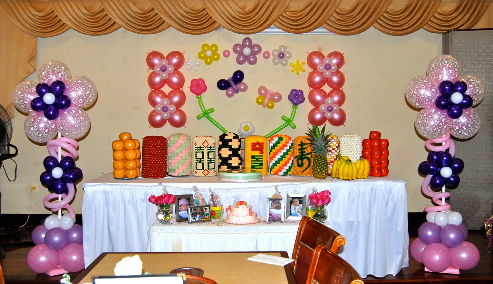 1st birthday balloons decorations image inspiration of for Balloon decoration ideas for 1st birthday