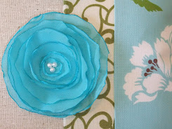 Fabric Flower Tutorial...