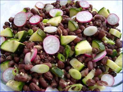adzuki bean salad ingredients salad 1 can adzuki beans drained and ...