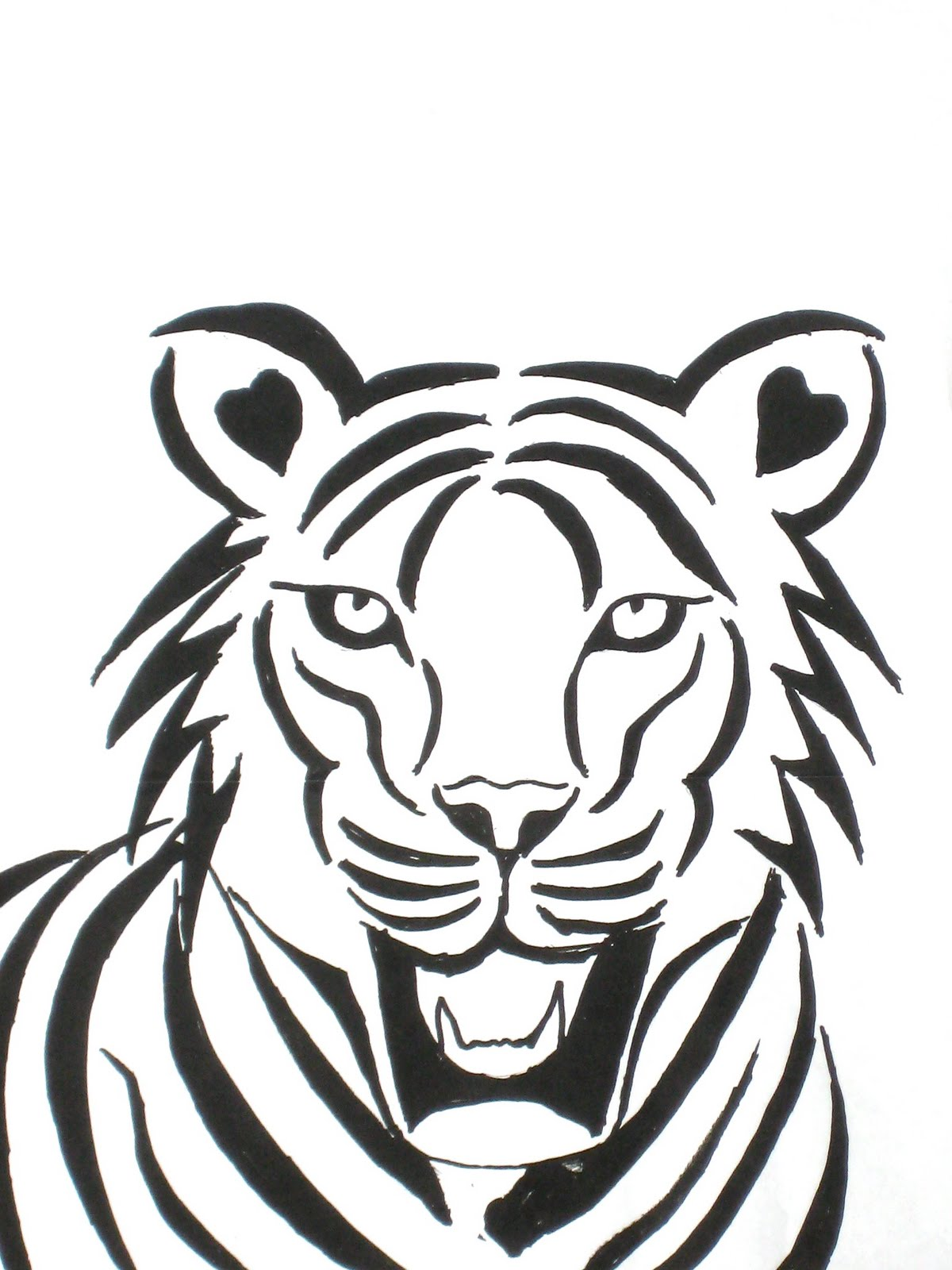Simple Sharpie Drawings Of Animals Wwwgalleryhipcom The Hippest