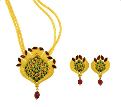Joyalukkas Jewel set designs
