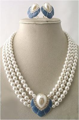 Narayana Pearl latest Necklace Designs