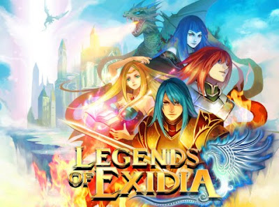 Legends of Exidia DS