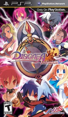Disgaea Infinite PSP
