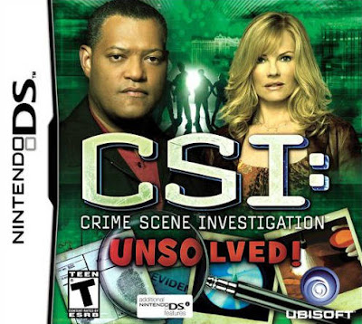 CSI: Crime Scene Investigation: Crimini Insoluti DS