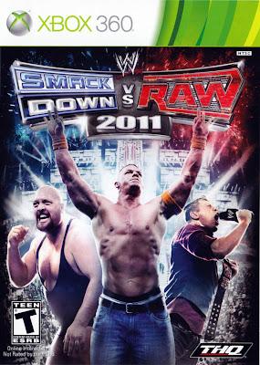 WWE SmackDown vs. Raw 2011 Xbox 360