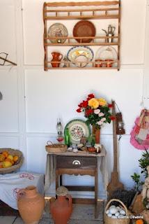 Decoração tradicional da casa algarvia, Silves, Maio 2010
