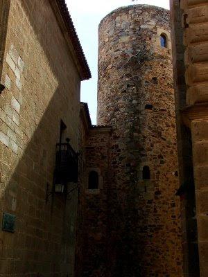 Torre de Carvajal, Cáceres, Setembro 2008, © António Baeta Oliveira
