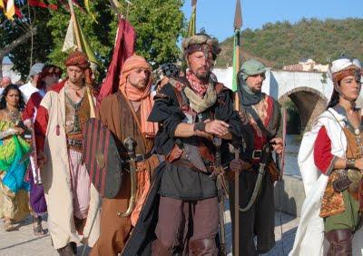 Cortejo medieval, Feira Medieval de Silves, edição de 2009