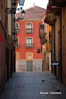 Rua no centro de León