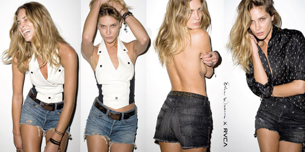 I have always been an Erin Wasson fan. The tattoos. The jewellery.