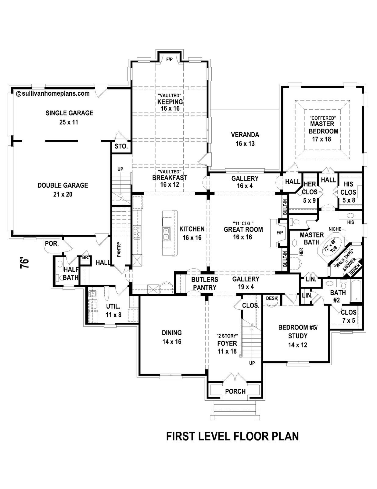 Sullivan home plans plan of the week for Sullivan house plans