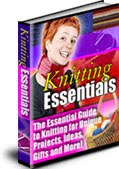 Learn to Knit, Knitting secrets, all here....