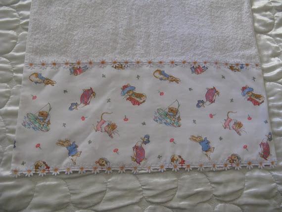 Asciugamano Beatrix Potter ..lato sotto