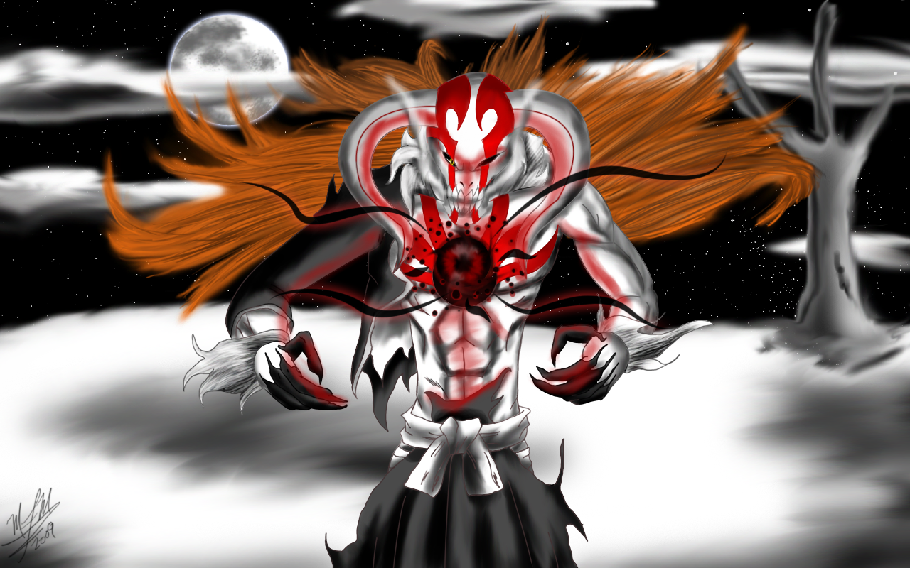 Full Hollow Form Hollow Ichigo Full Form by