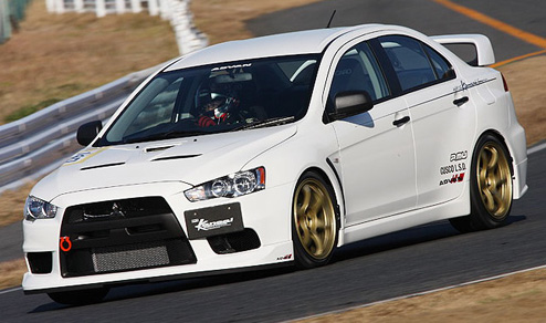Mitsubishi on Mitsubishi Evo X India Launch By January 2010   Car Dunia