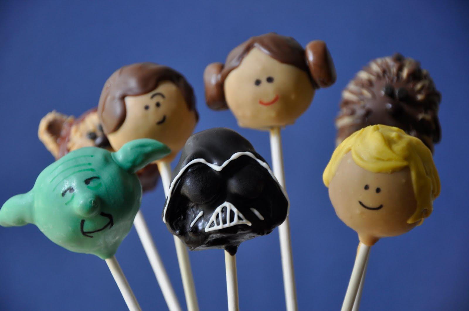 Star Wars Cake Pop Images : Little Miss Sweet & Spicy: Lil Cutie Pops Star Wars Pops!